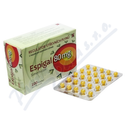 Espigal 80mg Galmed cps.100