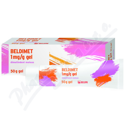 Beldimet 1mg/g gel 50g
