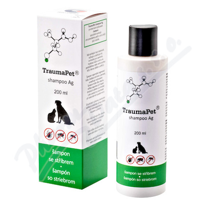 TraumaPet šampon s Ag 200ml
